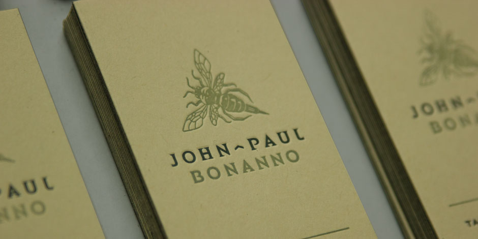 Logo for John-Paul Bonanno Tailored Tattooing by Madonna+Child