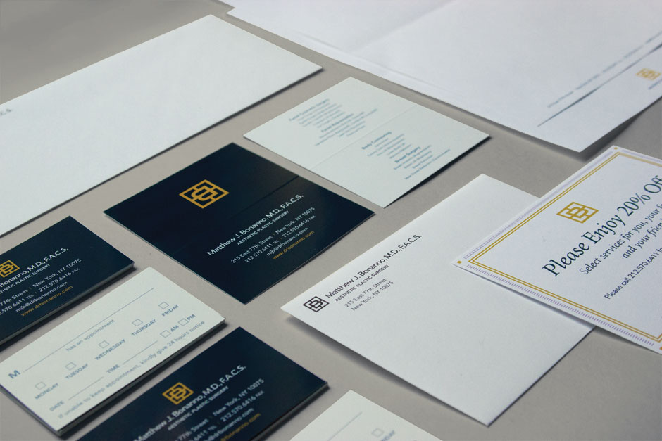 Branding for Bonanno — Aesthetic Plastic Surgery by Madonna+Child