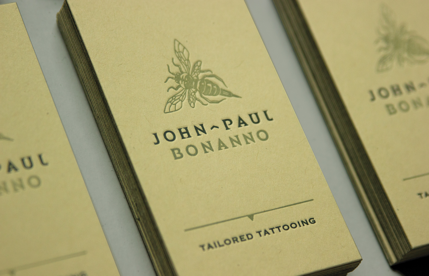 Branding for John-Paul Bonanno Tailored Tattooing by Madonna+Child